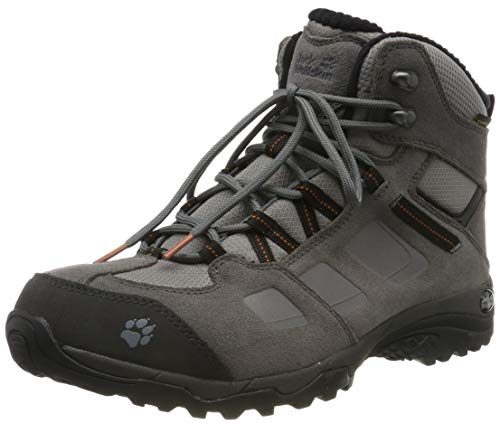 Jack Wolfskin Herren Vojo Hike 2 WT Texapore MID M Trekking-& Wanderstiefel, Grau (Tarmac Grey/Dark Steel 6122), 42 EU