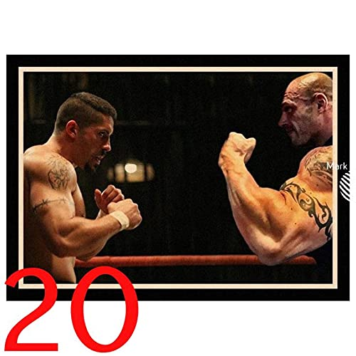 Perfect JL Boyka Undisputed Scott Adkins Poster retrò Canvas Painting Wall Art Poster Immagini Poster E Stampe 50X70Cm Ig-2933