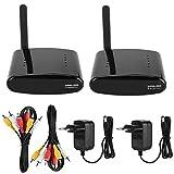 Transmisor y receptor AV Sender,Expeditor AV inalámbrico con transmisión de datos rápida, 5 canales, 5,8 GHz...