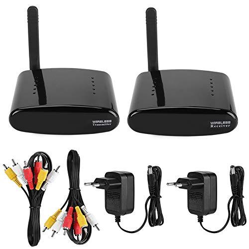 Sender AV-Transmitter und Empfänger, kabelloser AV Transmitter mit schneller Datenübertragung, 5 Kanäle, 5,8 GHz Anti-Eingang – EU-Stecker