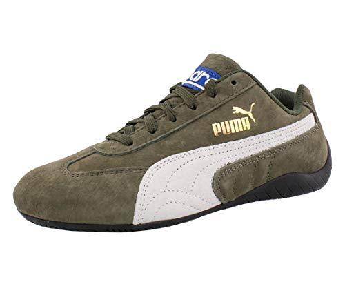 Puma Speedcat OG Sparco Womens Shoes Size 7.5, Color: Forest Night/Puma White