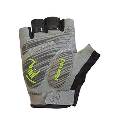 Roeckl Biel Fahrrad Handschuhe kurz weiß/schwarz 2020: Größe: 6