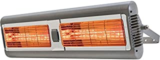 Solaira SALPHAH2-30240S Solaria Alpha Series - Electric Infrared Commercial Heater, Grey Finish