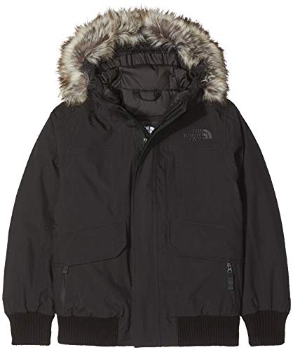 THE NORTH FACE Jungen Daunenjacke Gotham, Tnf Black/Tnf Black, XL, T934QBKX7