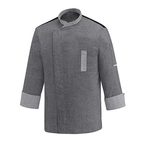 EGOCHEF Twins Chaqueta (Grey Mix, S)