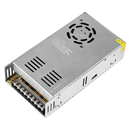 BelleStyle Netzteil Trafo Transformator Adapter 24V 15A 360W 110/220V DC Universal Geregelt Schaltnetzteil Stromversorgung für 3D Drucker LED Beleuchtung Industrieanlagen Computer überwachungskamera