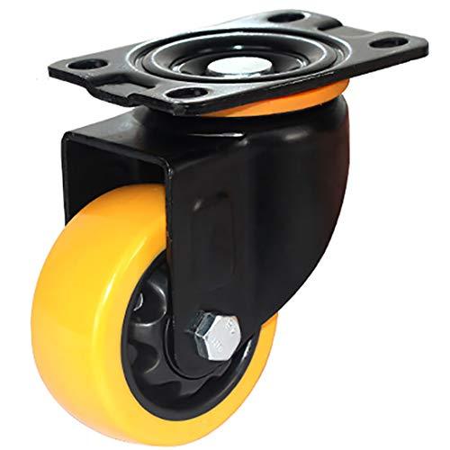 ZYFA wieltjes, draaibare wieltjes, voor zwaar gebruik, voor werkbank voor rolwagens
