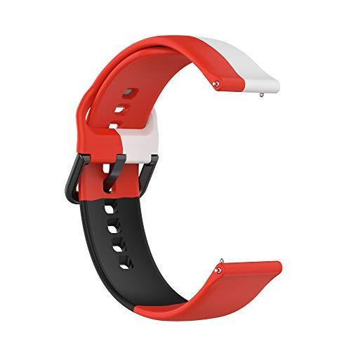 Correas de Reloj,3 Colores Correa para Fitbit Versa 2,Bandas Correa Repuesto,Flexible Silicona Reloj Recambio Brazalete Watch Correa Repuesto para Fitbit Versa 2/Versa /Versa lite/Blaze (color 6)