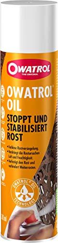 OWATROL – OIL – 300 ml Spray – Rostschutzlack – farblos – Grundierung für Metalllackierung