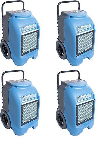 Dri-Eaz DrizAir 1200 Low-Temperature Refrigerant Dehumidifier 4-Pack