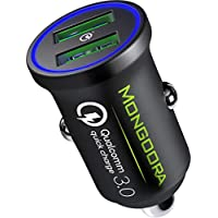 Mongoora 3.0 Dual USB 6A/36W Metal Car Charger