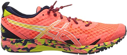 Asics Gel-Noosa Tri 12, Running Shoe Mens, Flash Coral/Flash Coral, 45 EU
