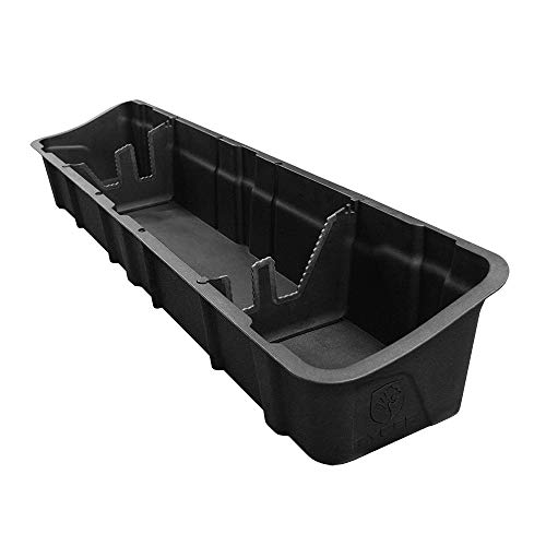 Tyger Auto Underseat Storage Box TG-CB5F2228 for 2015-2019 Ford F150 Crew Cab   Black Textured Rear Under Seat Organizer Cargo Box