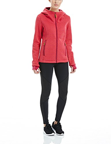 Bench Damen DOWNBEAT Strickjacke, Dark Pink, S