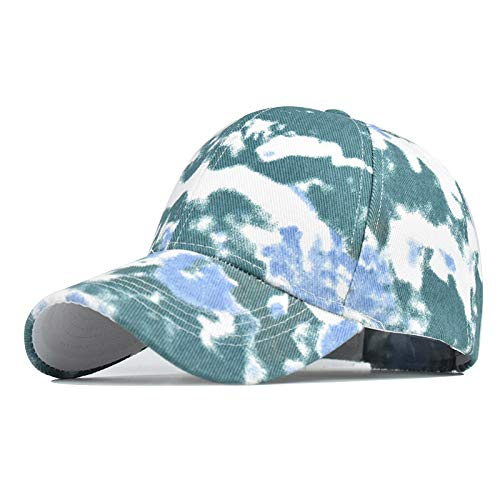Best Review Of Toimothcn Adult Tie-dye Sun Hat Adjustable Baseball Cap Hip Hop Hat Women Men Sport H...