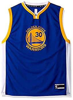 Stephen Curry Golden State Warriors #30 Blue Youth Road Replica Jersey  Large 14/16