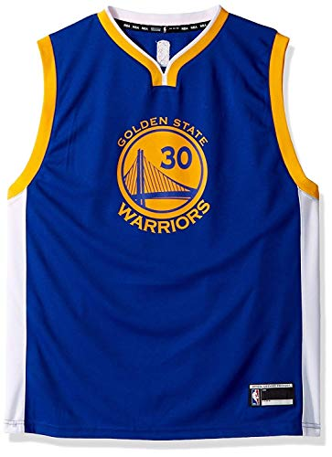 Stephen Curry Golden State Warriors #30 Blue Youth Road Replica Jersey (X-Large 18/20)