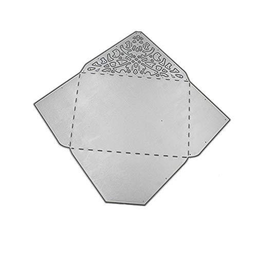 Demarkt koolstofstaal sterven stanssjabloon sjabloon stansvormen envelop scrapbooking stansmachine stansen snijden voor scrapbooking fotopapier kaarten handwerk stempelen