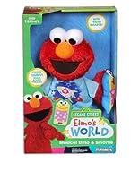 Sesame Street Musical Plush Elmo And Smartie セサミストリートミュージカルぬいぐるみエルモとスマーティー,英語で話す [並行輸入品]