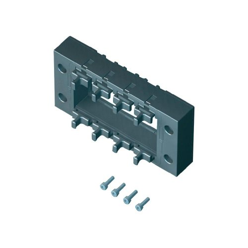 Rittal SZ 2400.950–Rack-Zubehör (schwarz, Polyamid, 10Stück (S), IP64)