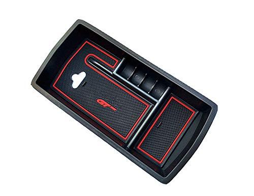Yueng Supporto per Scatola portaoggetti Interno in plastica Nera per Confezione da 1 Auto