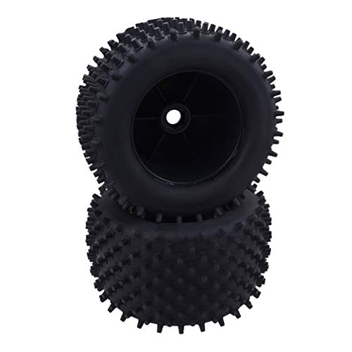 TOYANDONA 2 Piezas 1/8 RC Neumáticos de Coche Ruedas de