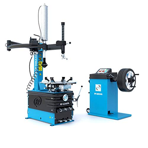 Reifen Montiermaschine und Wuchtmaschine RP-R-U200PN-400V2S+HA80L und RP-R-U095PN im Set