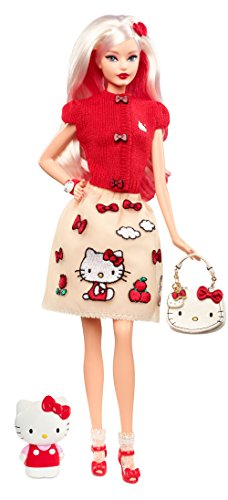 Barbie- Bambola Che Rende Onore all'Iconica Hello Kitty, DWF58