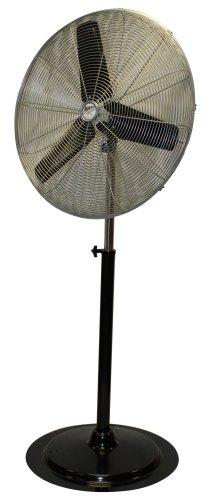 MAXXAIR HVPF 30 UPS 30-Inch Heavy-duty Three Speed Pedestal Fan