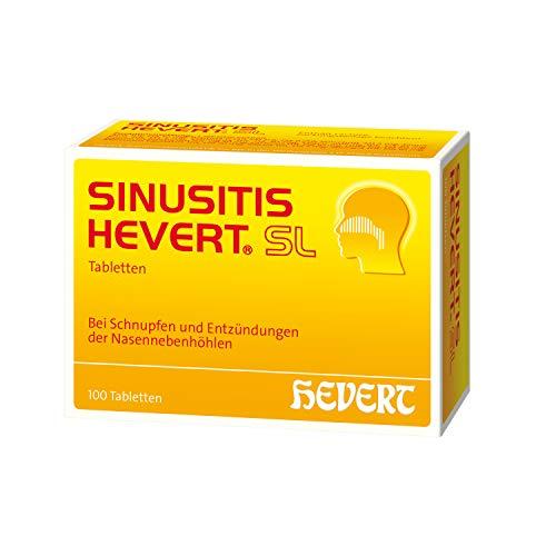 Sinusitis Hevert SL Tabletten, 100 St. Tabletten