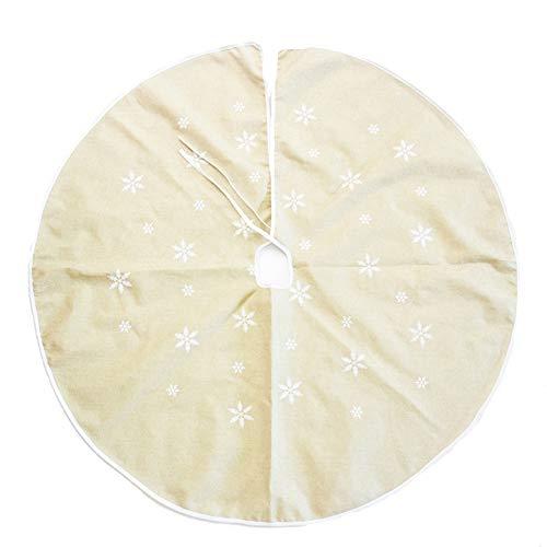 Cosanter La Jupe de Sapin de Noël d'un Diamètre de 120 cm Est Spécialement Conçue pour Noël