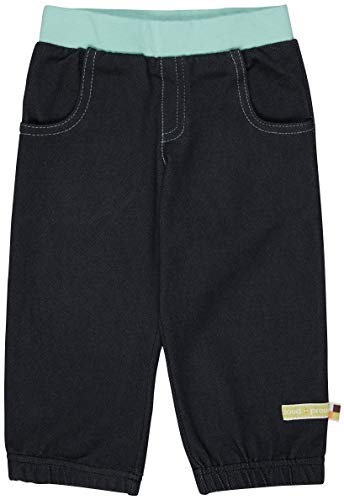 Loud + Proud Hose in Jeansoptik Jeans, Ultra Marin, 74/80 Mixte Enfant