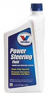 Valvoline 602241 Power Steering Fluid, 32 Oz, Amber