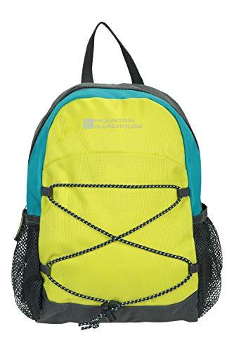 Mountain Warehouse Mini Trek 6L Rucksack – Lightweight Bag - Use For Cycling, Running Lime