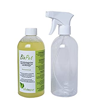 Biolopur BioPet Désodorisant pour Urine, Animal Domestique, etc. 500 ML