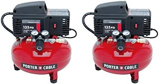 PORTER-CABLE PCFP02003 3.5-Gallon 135 PSI Pancake Compressor (2-(Pack