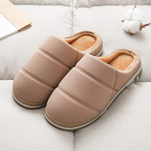 YUTJK Cozy Campfire-Team Toasty Slippers,Zapatillas de casa