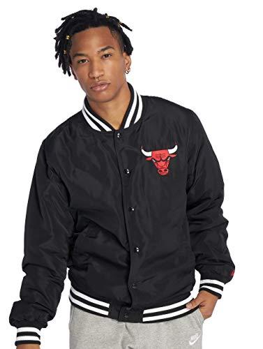 New Era Chicago Bulls Bomberjacke, Schwarz, M