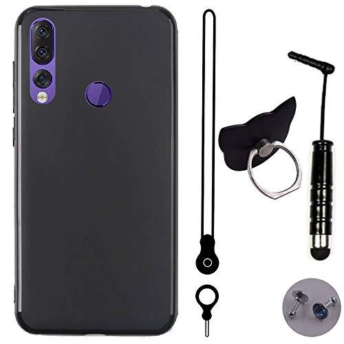 TienJueShi Schutz Hülle Handy Tasche Für Lenovo Z5s 6.39 inch TPU Silikon Hülle Abdeckung Cover Etüi Skin