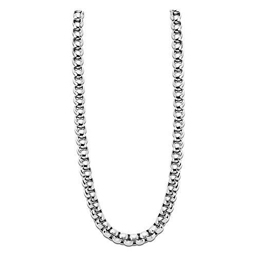 Lotus Style Collar Plata ls1932–1/1acero inoxidable hombre joyas jls1932–1de 1