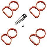 Twowinds - Tapón de cierre con juntas para anular palomillas (4 cilindros) N47 E81 E87 E88 E82 E90 E60