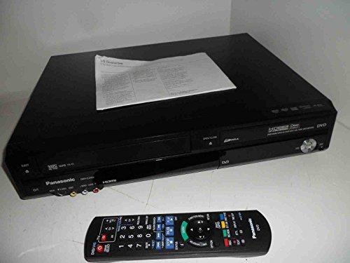 anasonic DMR-EZ48 Multi región reproductor de DVD con grabador de vídeo VHS Combi en color negro con transferencia de Freeview