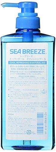 SEABREEZE(シーブリーズ)スーパークールボディシャンプー600ml600ミリリットル(x1)