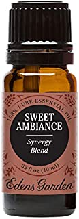Edens Garden Sweet Ambiance Essential Oil Synergy Blend, 100% Pure Therapeutic Grade (Anxiety & Stress) 10 ml