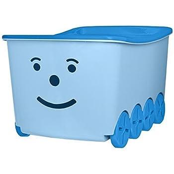 Branq Caja de almacenaje con Ruedas, 3 Colores, con Forma de Tren de Juguete, para niños: Amazon.es: Hogar