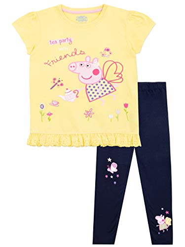 Peppa Pig Girls' Top & Leggings Set Multicolor Size 4