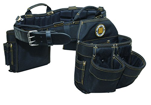 Rack-A-Tiers 43243 Electrician's Combo Belt & Bags - L (35' - 39')