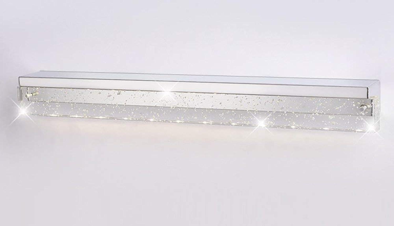 XHCP Einfache Moderne Edelstahl wasserdichte LED Kristallspiegel Scheinwerfer (Gre  3w12cm)