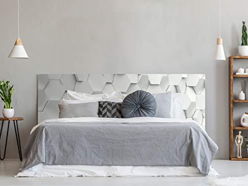 Cabeceros Cama 150 Pvc Blanco cabeceros cama 150  Marca Oedim