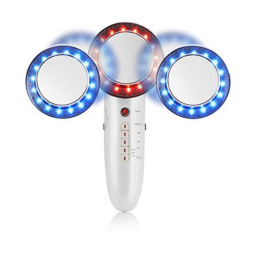 Ultraschall Kavitation Körper Abnehmen Massagegerät,6-in-1 Ultraschall EMS LED ION Firming Device,Fettentferner Maschine für straffende Formgebung